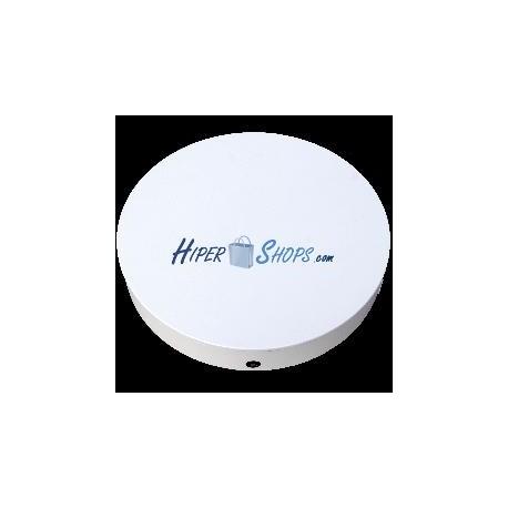 Base giratoria eléctrica d60cm h12cm blanco con control remoto