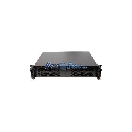 Caja rack19 IPC ATX 2U F280mm 3x3.5 RackMatic