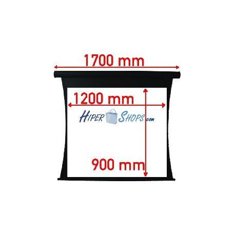 Pantalla de proyección tensionada motor de 1200x900mm 4:3 DisplayMATIC PRO