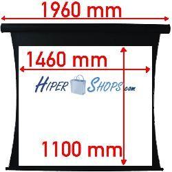 Pantalla de proyección tensionada motor de 1460x1100mm 4:3 DisplayMATIC PRO