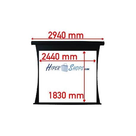 Pantalla de proyección tensionada motor de 2440x1830mm 4:3 DisplayMATIC PRO