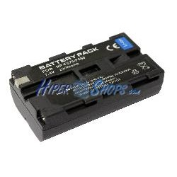 Batería compatible con con Sony NP-F550 NP-F330 NP-F530 NP-F570