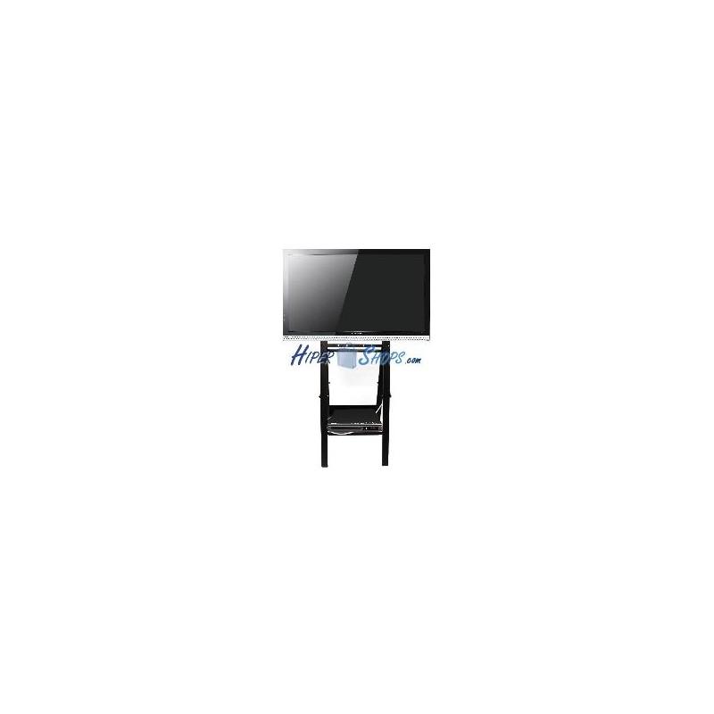 Soporte de pantalla plana tv 32 42 46 tipo caballete con ruedas todo pantalla - Soporte con ruedas para tv ...