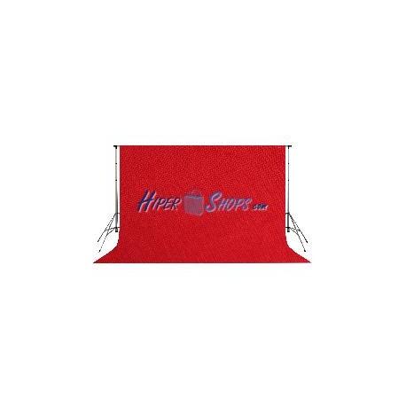 Fondo de estudio de color rojo borgoña de tela 600x300cm