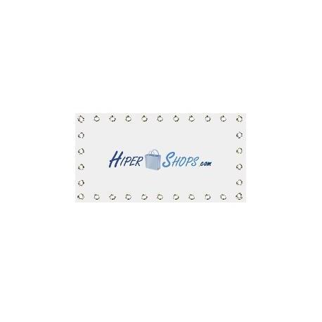 Tela de proyección de 400x225cm 16:9 PVC blanco para eventos y presentaciones