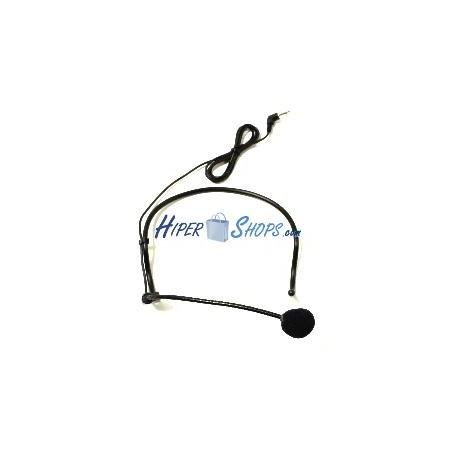 Micrófono tipo auricular para petaca inalámbrica XW34 XW35 XW36 XW37