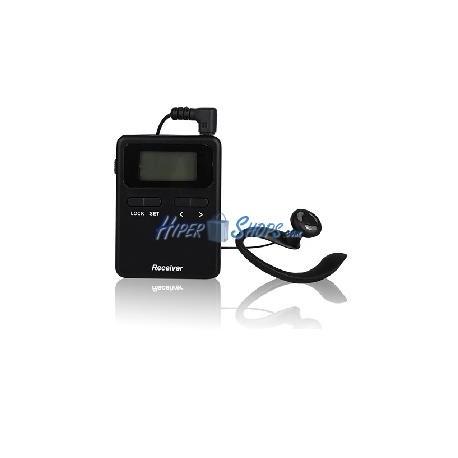 Audioguía inalámbrico para grupos 808-818MHz módulo receptor