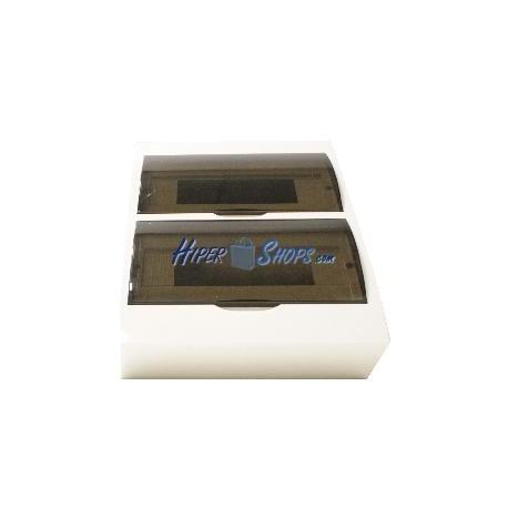 Caja de distribución eléctrica SPN 24M IP40 de empotrar de plástico ABS