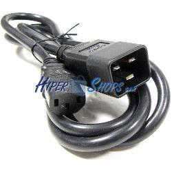 Cable Alimentación IEC-60320 3m C13 a C20