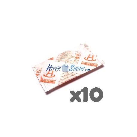 Bolsa desecante de HyperDry 43x80mm 5g 10 pack