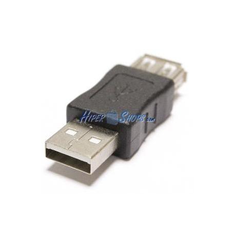 Adaptador USB A-macho a A-hembra