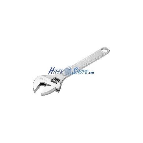 Llave inglesa metálica de 300mm ajustable a 35mm de herramientas Tolsen