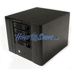 Caja mini ITX cúbica con 4 HDD-SATA 220x154x245mm