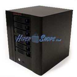 Caja mini ITX cúbica con 6 HDD-SATA 220x154x245mm