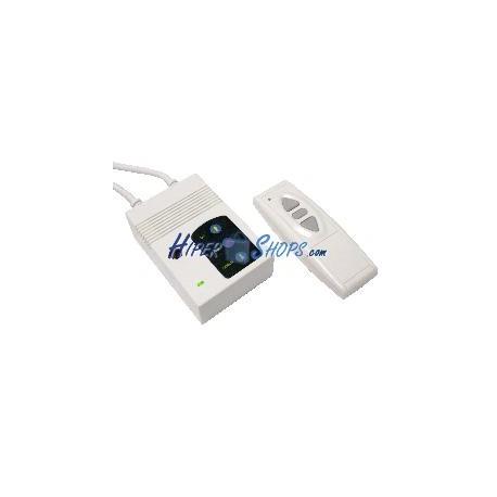Control remoto para pantalla de proyección DisplayMATIC RF blanco