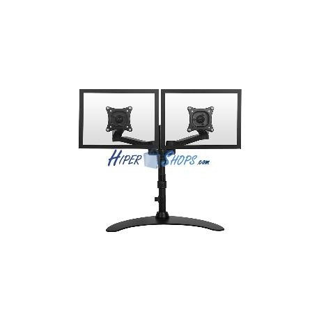 Soporte de 2 pantallas de TV para sobremesa y con peana VESA 75 100 modelo ML1002