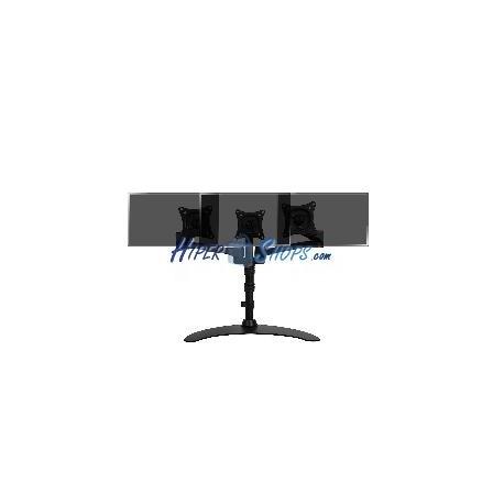 Soporte de 3 pantallas de TV para sobremesa y con peana VESA 75 100 modelo ML1003