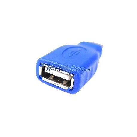 Adaptador USB-C 3.1 Macho a USB-A 2.0 Hembra