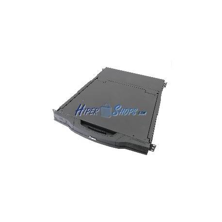 Consola KVM ANNSO de 16 puertos para rack 1U 580mm US