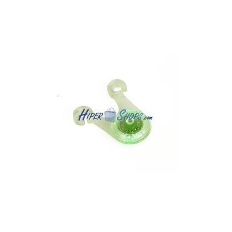 Luz verde de silicona para cable freno y sillín de bicicleta