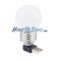 Bombilla de luz blanca USB