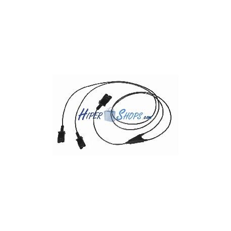 Cable duplicador Plantronics QD de 100cm