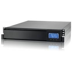 SAI Lapara 1000VA/1000W v1.0, on-line, doble conversión, rack 2U, LCD