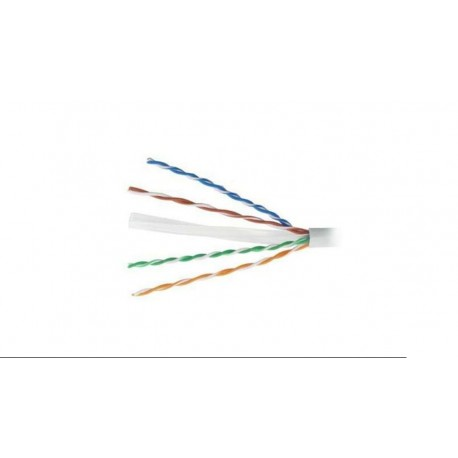 Bobina de cable UTP Cat.6 flexible gris 100m