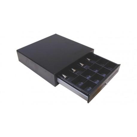 Cajón portamonedas 410x410x99mm 4 Billetes/8 monedas RJ-11