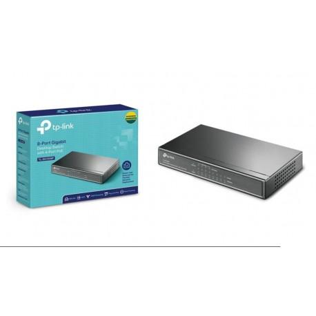 Switch TP-Link TL-SG1008P 8 puertos Gigabit 4x POE 802.3af/ab