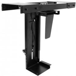Soporte de caja de ordenador con deslizamiento bajo mesa ajustable 88-203mm