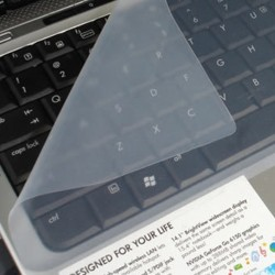 Protector de silicona para teclado