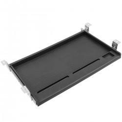 Bandeja de teclado deslizante para escritorio negra