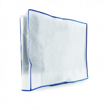 """Funda protectora antipolvo de plástico para pantalla monitor TV de 46"""" 115x12x100 cm"""