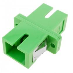Acoplador de fibra óptica SC/APC a SC/APC monomodo simplex