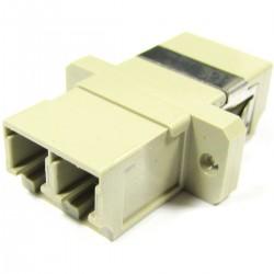 Acoplador de fibra óptica LC a LC multimodo duplex