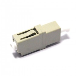 Acoplador de fibra óptica LC a LC multimodo simplex