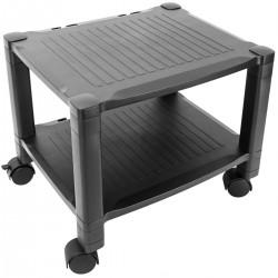 Mesa auxiliar para impresora Carro con ruedas con pasacables
