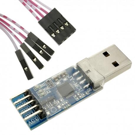 Conversor electrónico 5V-3V IIC UART de 4 canales DW-0743