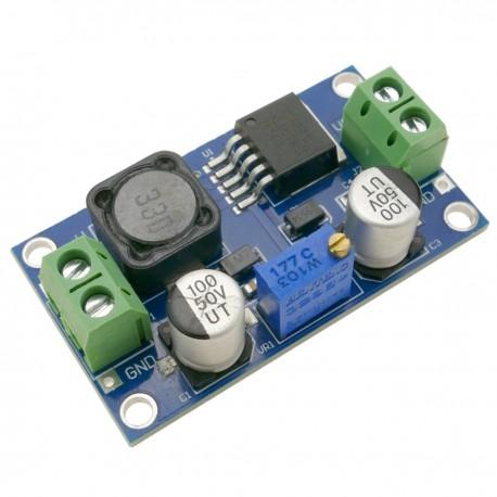 Fuente de alimentación DC-DC con amplificador XL6019 DW-1112