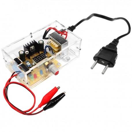 Fuente de alimentación de 220V a 5V Kit DIY LM317 DW-0842