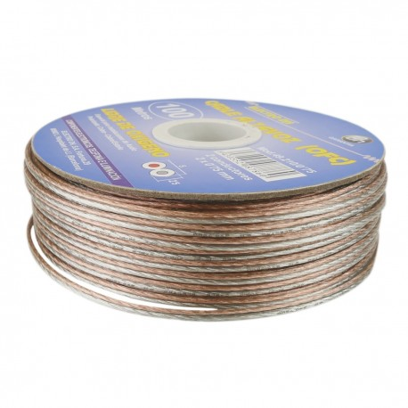 Bobina de cable para altavoz libre de oxígeno 1,00 mm de 100 m
