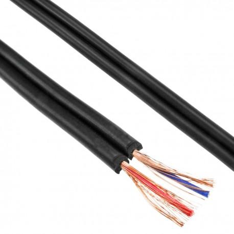 Bobina de cable de audio estéreo 92 pF/m de 100 m