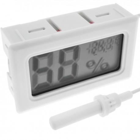 Termómetro e higrómetro con sensor para panel DW-0223