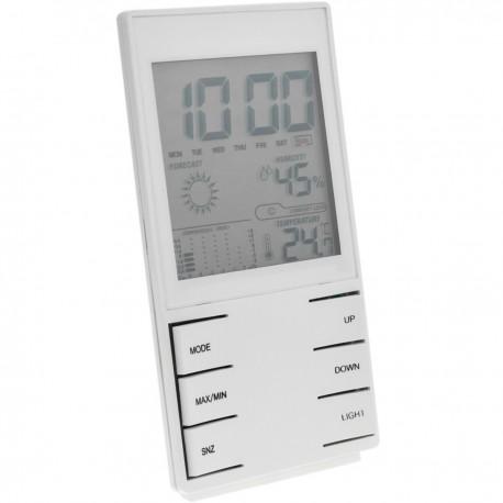 Termómetro higrómetro y reloj digital DW-0209
