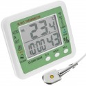 Termómetro higrómetro y reloj digital DW-0219