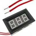 Visor LCD de 3 dígitos azul y con voltímetro 60-500V con marco