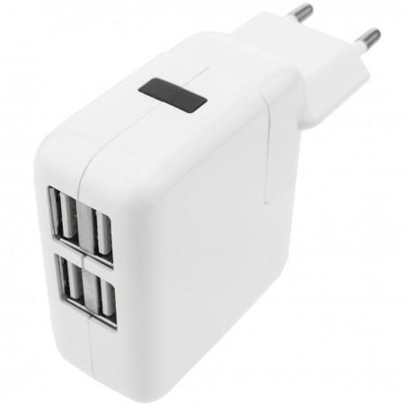 Fuente de alimentación 220VAC a USB 4A hembra 5VDC 4A
