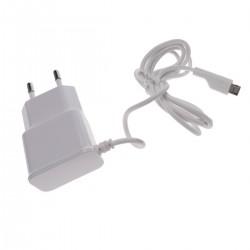 Fuente de alimentación 220VAC a Micro USB macho 5VDC a 1A