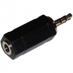 Adaptador Audio Estéreo (Jack-3.5mm-H / Jack-2.5mm-M)
